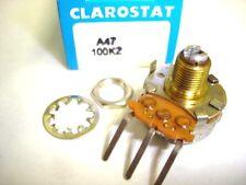 Clarostat A47 100k Z 100k Ohm Pot Potentiometer Nib