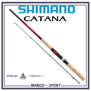 CANNA-DA-PESCA-SHIMANO-CATANA-DX-SPINNING-ROD-DX-CARBONIO-TROTA-BLACK-BASS-LUCCI