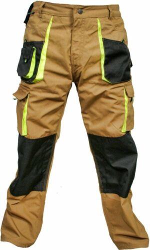 Mens Work Trousers Kneepad /& Holster Pockets Cordura Cargo Combat Working Pants