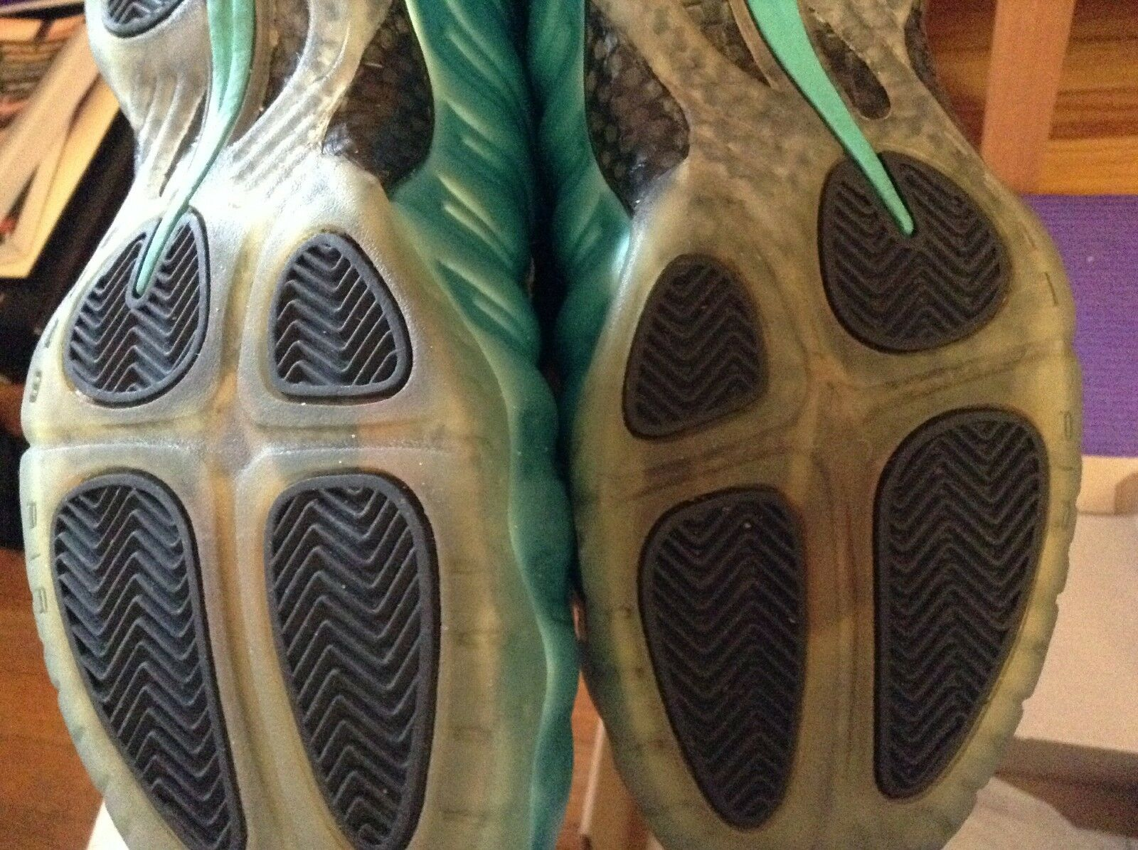Nike air foamposite pro Teal Electric Electric Electric bluee size 10.5 VVVNDS 965ab9