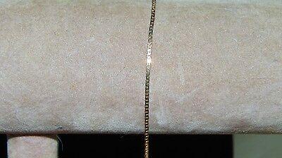 """Vintage  Emmons Signed 14K Gold Filled GF  Small Bracelet Minimalist 6.5"""""""