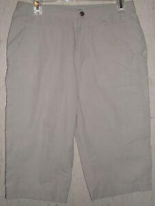 WOMENS-Columbia-Sportswear-Company-KHAKI-CAPRIS-SIZE-8