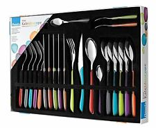 Amefa Eclat Multi Color Cutlery Kaleidoscope Set, 24 Pieces