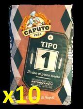 """FARINA CAPUTO """"tipo 1"""" grano tenero 10 kg germe di grano pizza taglio pane dolci"""