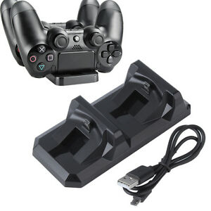 Dual-USB-Charger-Station-Dock-Fast-Charging-Stand-For-Playstation-PS4-Controller