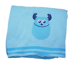 Disney-Monsters-Applique-Knit-Baby-Blanket