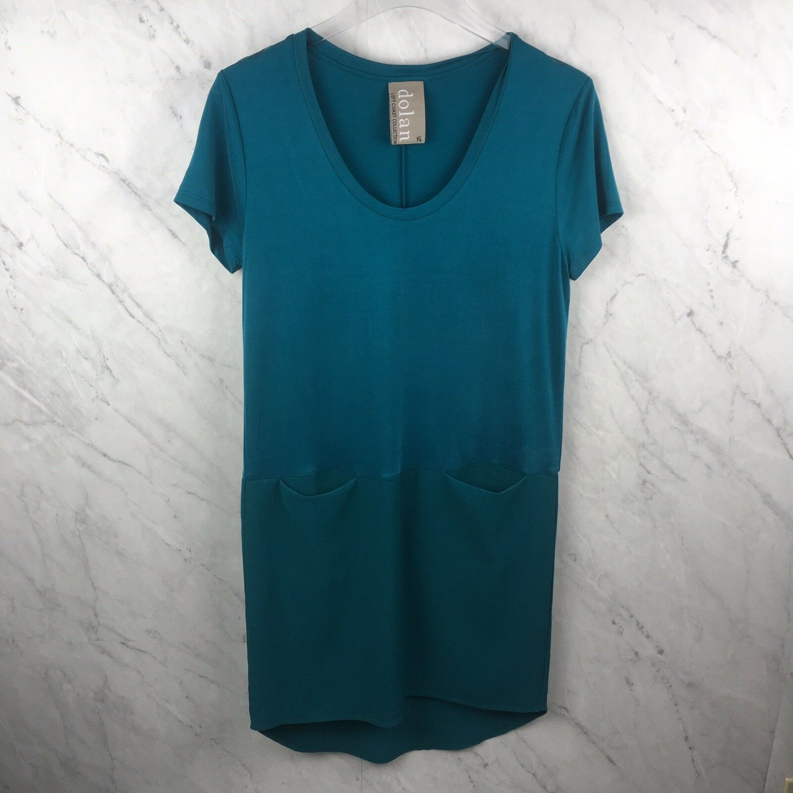19b5c450702 Dolan Dress Size XS bluee Teal Short Sleeve Anthropologie Womens nwvujt4975- Dresses