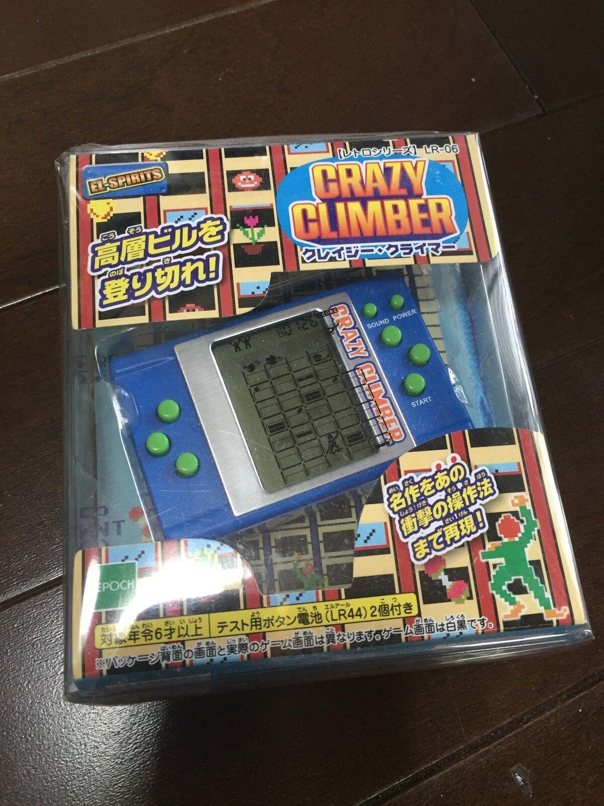 CRAZY CLIMBER handheld LCD LSI game EPOCH EL-SPIRITS LR-06