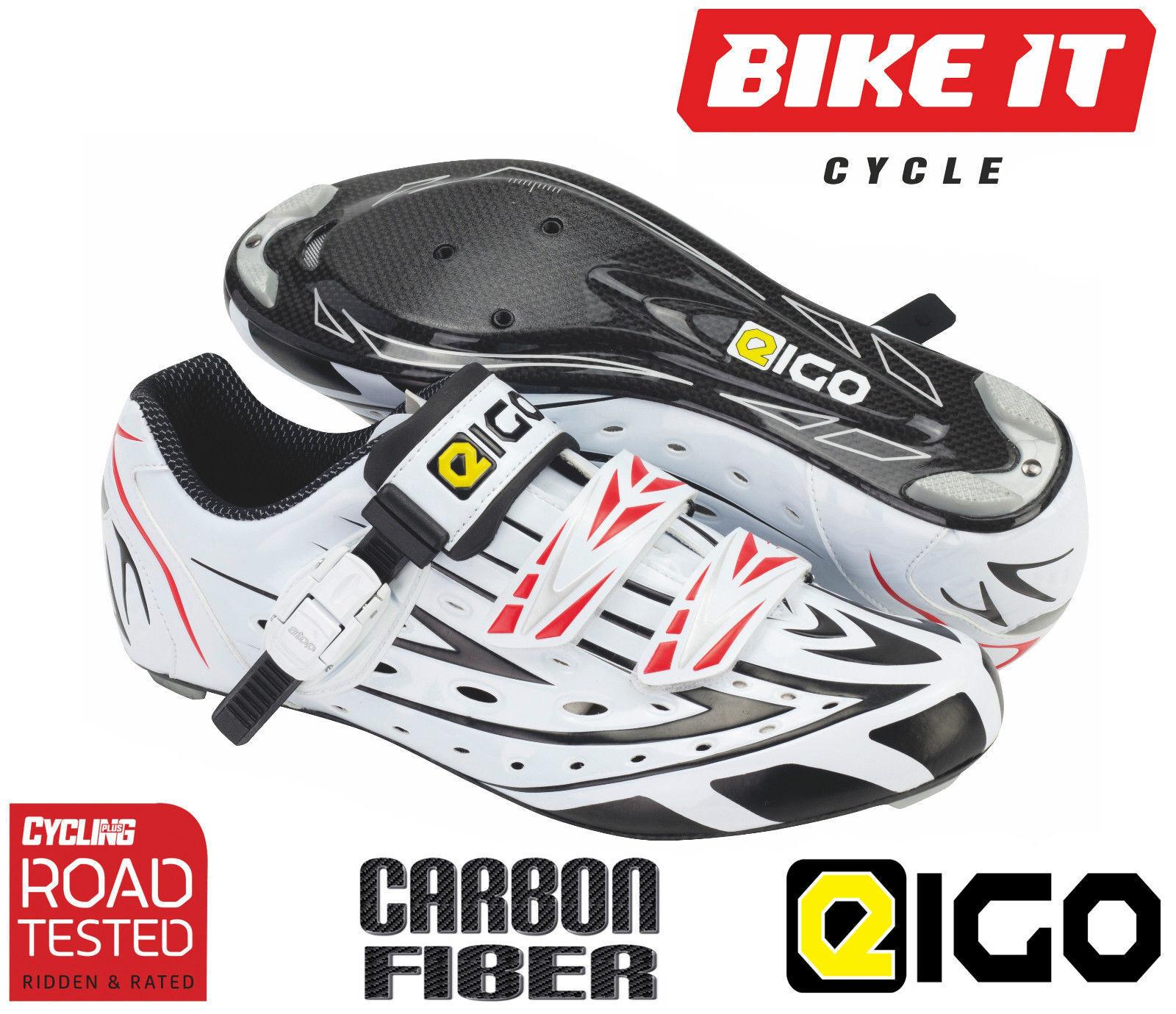 Eigo Sigma CARBON SCARPE CICLISMOStrada Bicicletta da Corsa Triathlon ciclo di concorrenza