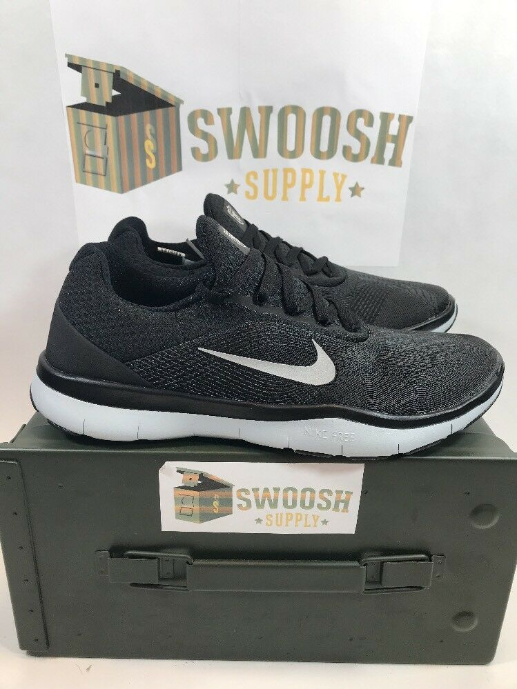 Nike Oakland Raiders Free Trainer V7 Ltd Edition Black Shoes AA1948-001 Size 7.5