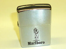 "MARLBORO ""COWBOY"" ZIPPO LIGHTER  - UNUSED - NEVER STRUCK - 1977 - VERY RARE"