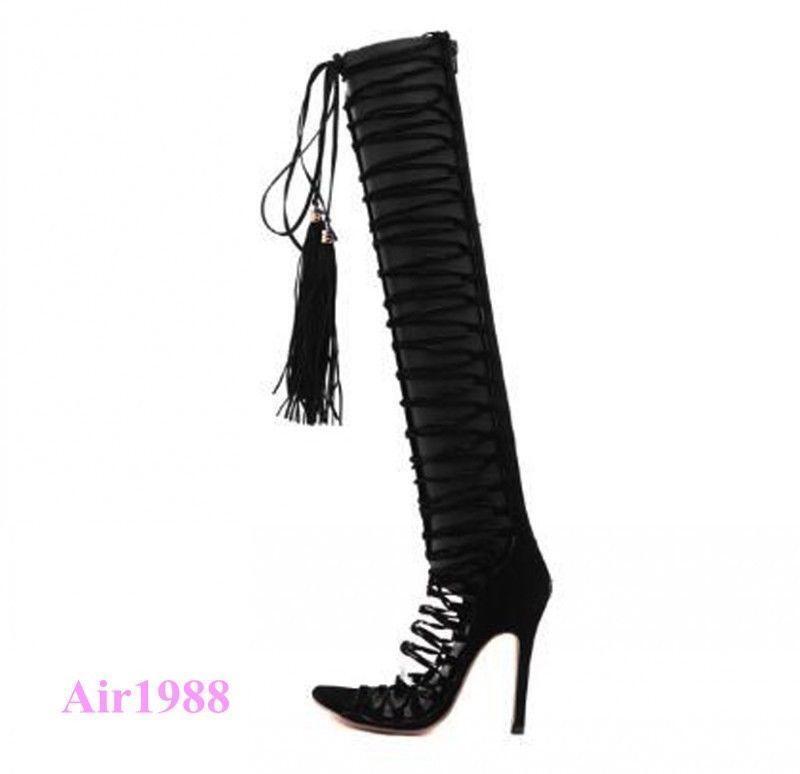 SM  Women/'s Mariah Gladiator Sandal Black NWT Size 7