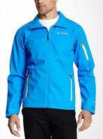 Columbia Million Air Men's Softshell Omni-shield Jacket Blue $150 L