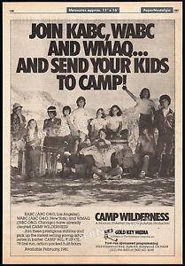 CAMP-WILDERNESS-Original-1981-Trade-AD-TV-series-promo-poster-MATT-BOSTON