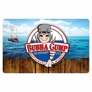 $50 Bubba Gump Shrimp Physical Gift Card + $10 Bonus Card - Mail Delivery