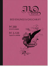 ILO M 250 2-125 Motor Bedienungsanleitung Handbuch Betriebsanleitung User Manual