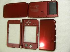 2015 New Version Nintendo 3DS XL LL  Red Housing Parts Original Shell N3DSXL