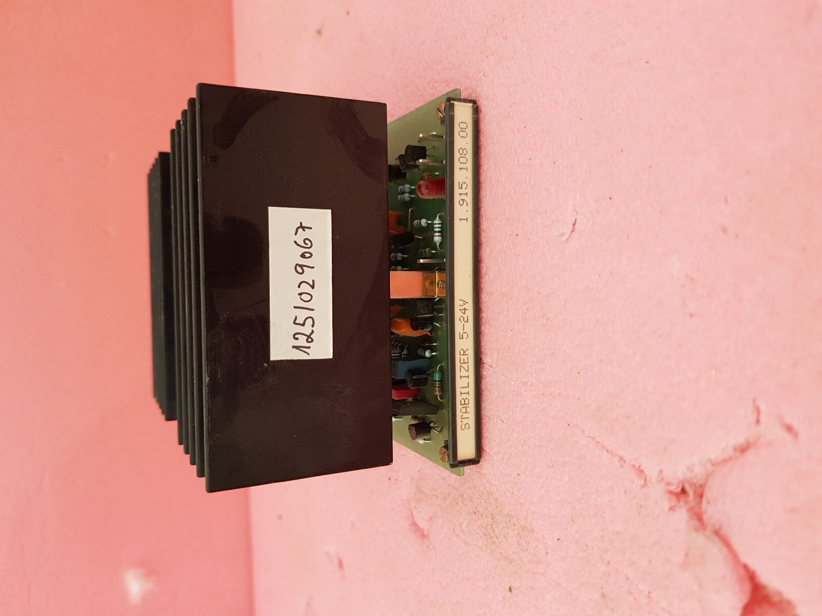 STABILIZER HIGH CURRENT 5-24V FOR STUDER A900 A963 A970 A980 1.915.108.00