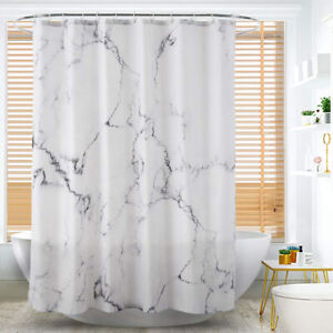 Bathroom Shower Curtain Window Decor