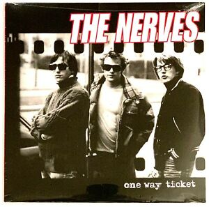 The-Nerves-One-Way-Ticket-in-shrink-Current-Pressing-LP-Vinyl-Record-Album