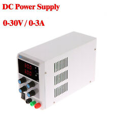 30V 3A DC Regulated Power Supply Adjustable Digital Variable Lab Grade 110V/220V