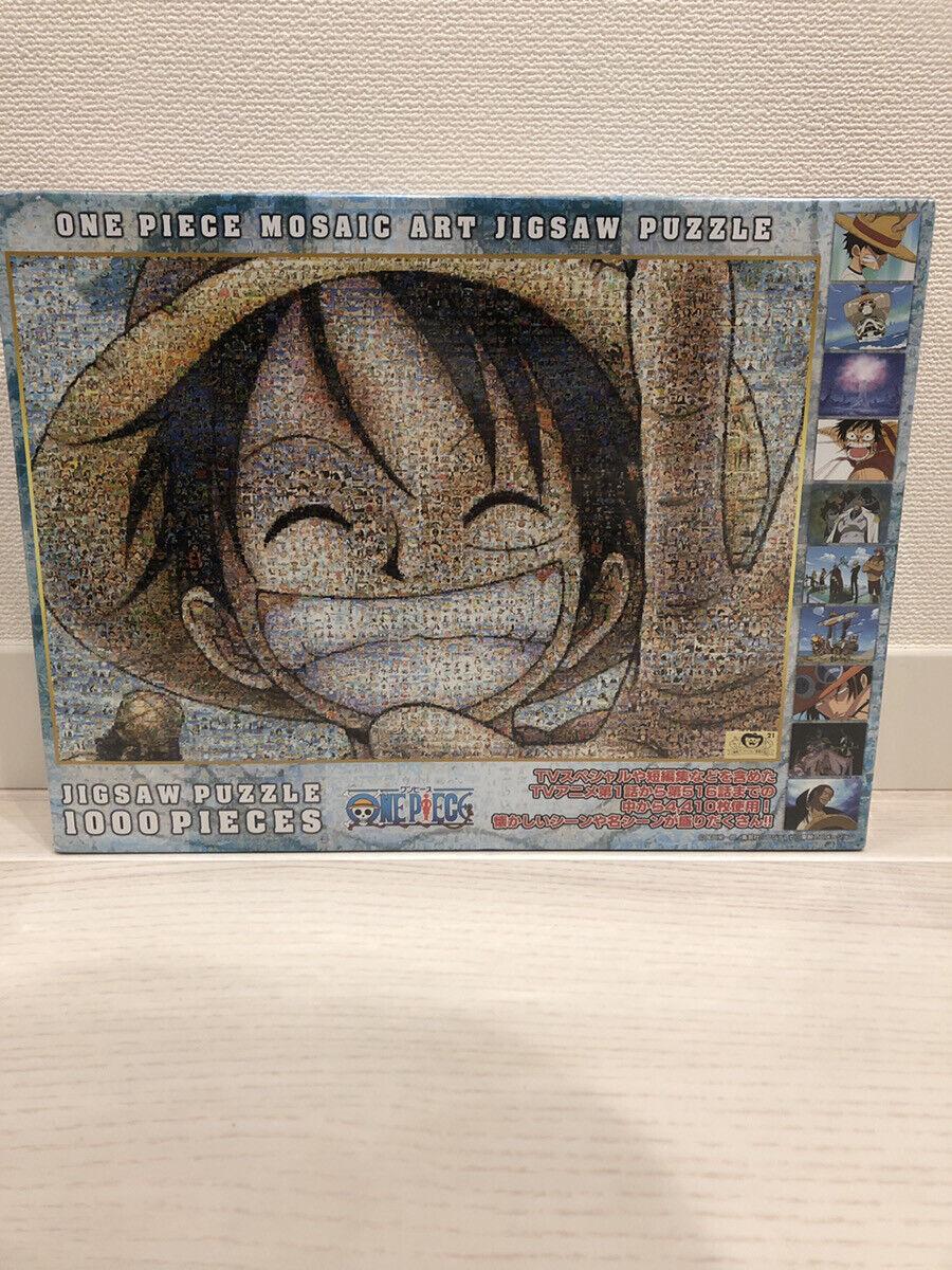 One piece Luffy 1000 piece jigsaw puzzle Ensky One piece mosaic art 50x75cm