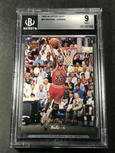 MICHAEL-JORDAN-1995-UPPER-DECK-23-BASE-CARD-MINT-BGS-9-CHICAGO-BULLS-NBA-MJ