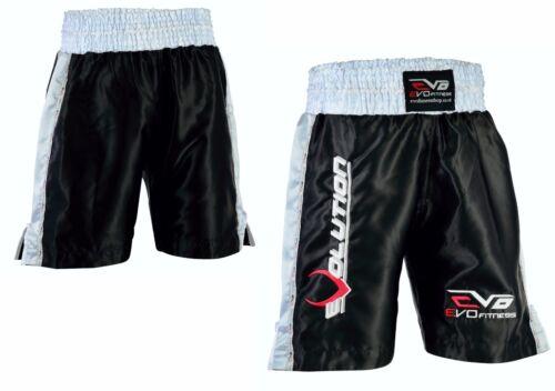 EVO Men Boxing Fight Shorts MMA Kick boxing Martial Arts Gear Muay Thai UFC