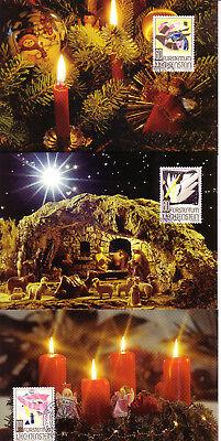 Diverse Philatelie europa:15518 Rational Liechtenstein Mk 128 Michelnummer 1096-1098 Briefmarken