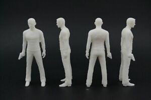 painted NO CAR! 1:18 007 James Bond Daniel Craig figurine VERY RARE !!