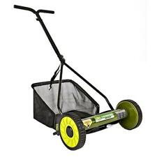 Sun Joe Mow Joe 16-Inch Manual Reel Mower with Catcher | Certified Refurbished