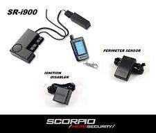 Scorpio SR-i900 Motorcycle Alarm System w/ Perimeter Sensor & Ignition Disabler