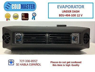 UNIVERSAL UNDER DASH AC EVAPORATOR UNDERDASH A/C AIR CONDITIONER ADD ON UNIT 12V