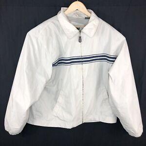 Vintage-Timberland-Mens-Large-Cream-Windbreaker-Retro-90s-Jacket-Coat