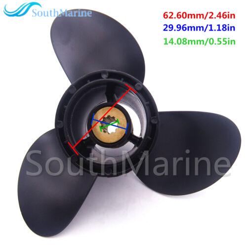 58100-93743-019 Propeller 9 1//4 x11 R for Suzuki DT9.9 DT15 DF9.9 DF15 DF20