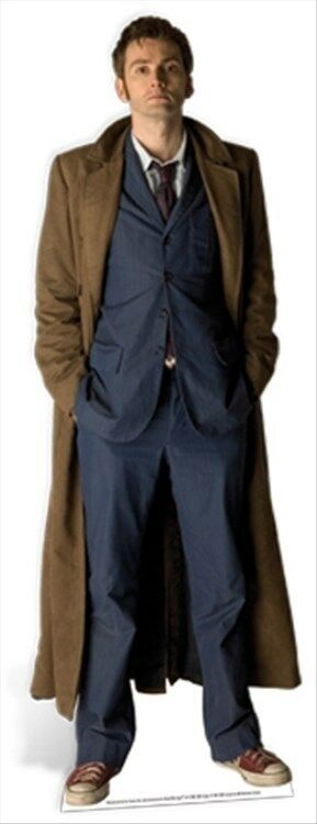 The Tenth Doctor Who David Tennant Official LifeGröße Celebrity Cardboard Cutout