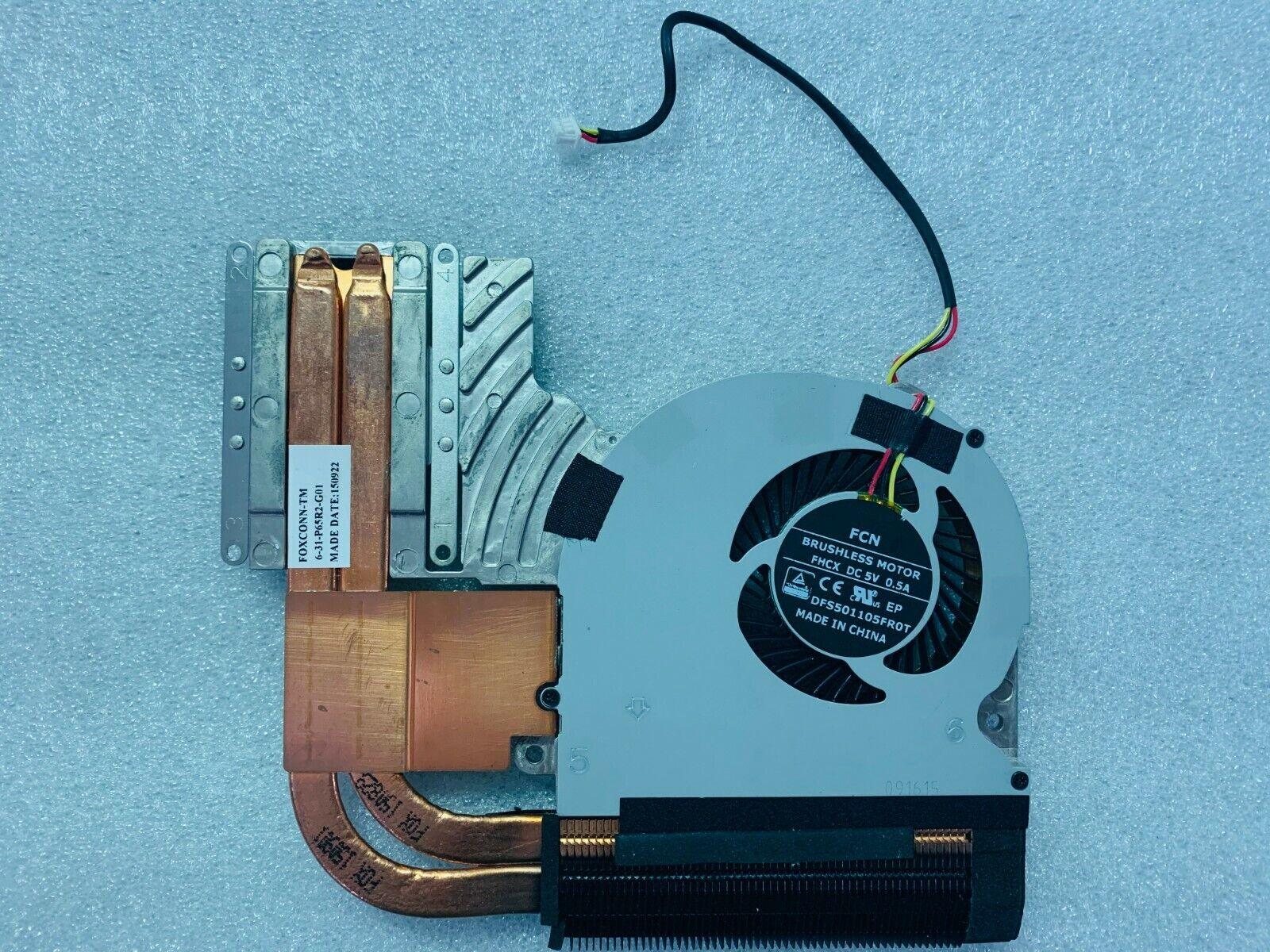 NEW ORIGINAL Clevo 670 CPU FAN w/ Heatsink