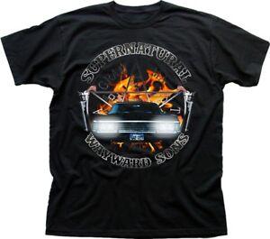 SUPERNATURAL-WInchester-Bros-Wayward-Sam-Dean-black-cotton-t-shirt-9613