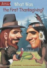What Was... ?: What Was the First Thanksgiving? by Joan Holub (2013, Paperback)