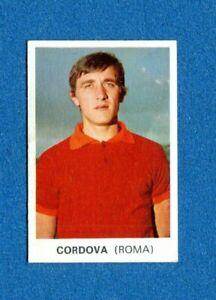 Figurina-Sticker ROMA -Rec CORDOVA CALCIATORI PANINI 1968-69