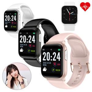 Bluetooth Smartwatch EKG Pulsuhr Blutdruck Armband für Android Samsung Huawei LG