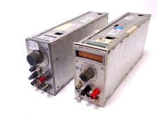Tektronix Plug In Lot With Dm 501 Digital Multi Meter Amp Fg 501 Function Generator