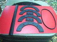 John Deere Trs-21 Snow Blower Paddles , Scraper & Belt :