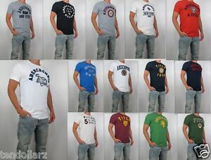 ef1d27ed Image is loading NWT-Abercrombie-Fitch-Men-Muscle-Fit-Heritage-Applique-