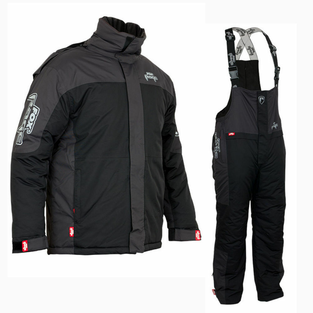 Fox Rage inverno Suit thermoanzug Giacca e pantaloni molto caldo Dimensione Selezionabile S-XXXL