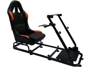 Superb Details About Simulator Chair Racing Seat Driving Gaming Chair Xbox Playstation Pc F1 Ps4 Theyellowbook Wood Chair Design Ideas Theyellowbookinfo
