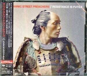 MANIC-STREET-PREACHERS-RESISTANCE-IS-FUTILE-JAPAN-CD-BONUS-TRACK-F30