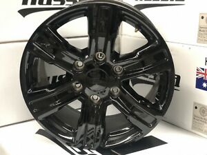 4X-NEW-Genuine-FORD-XLT-PX3-RANGER-2019-FACTORY-GLOSS-BLACK-17-034-WHEELS-ONLY-X4