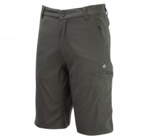 Craghoppers Mens Kiwi Pro Stretch Long Shorts Dark Khaki