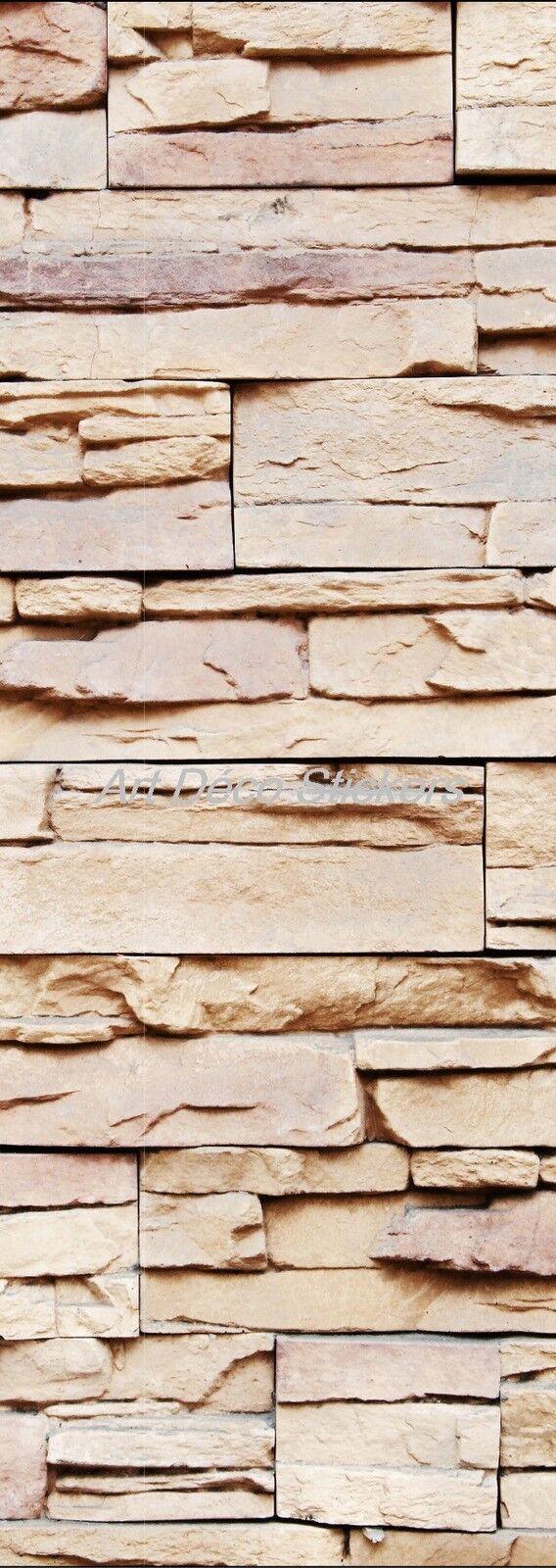 Cartel Póster de Puerta Decoración Parojo de Piedra Ref 578 (4 Tallas)